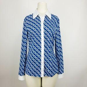 J. Mclaughlin Betty Button Up Catalina Cloth Shirt